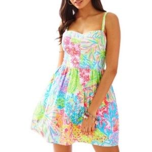 Lilly Pulitzer Lovers Coral Ardleigh Dress